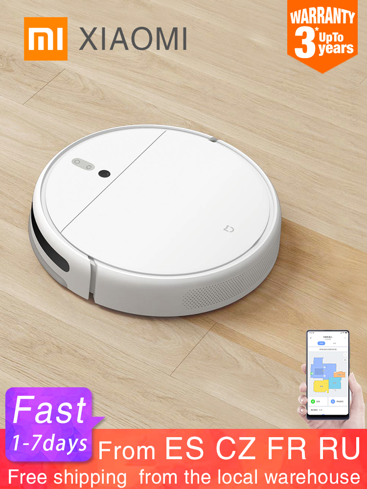 XIAOMI Vacuum-Cleaner Mopping-Robot Dust-Sterilize WIFI Smart Cyclone-Suction Home 1C