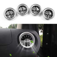 Für Mercedes Benz V Klasse Vito Viano Valente Metris W447 15-19 Innen Vorne Dashboard Air Zustand AC Vent outlet Turbo Trim