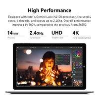 CHUWI Hi10 X 10.1 inch Tablet PC FHD screen Intel Celeron N4120 Quad core 6GB RAM 128GB ROM Windows 10 system 2