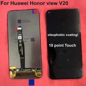 Image 2 - Neue Getestet Original Für Huawei Honor V20 PCT AL10 PCT L29/Für Honor Ansicht 20/nova 4 LCD DIsplay + Touch screen Digitizer Montage