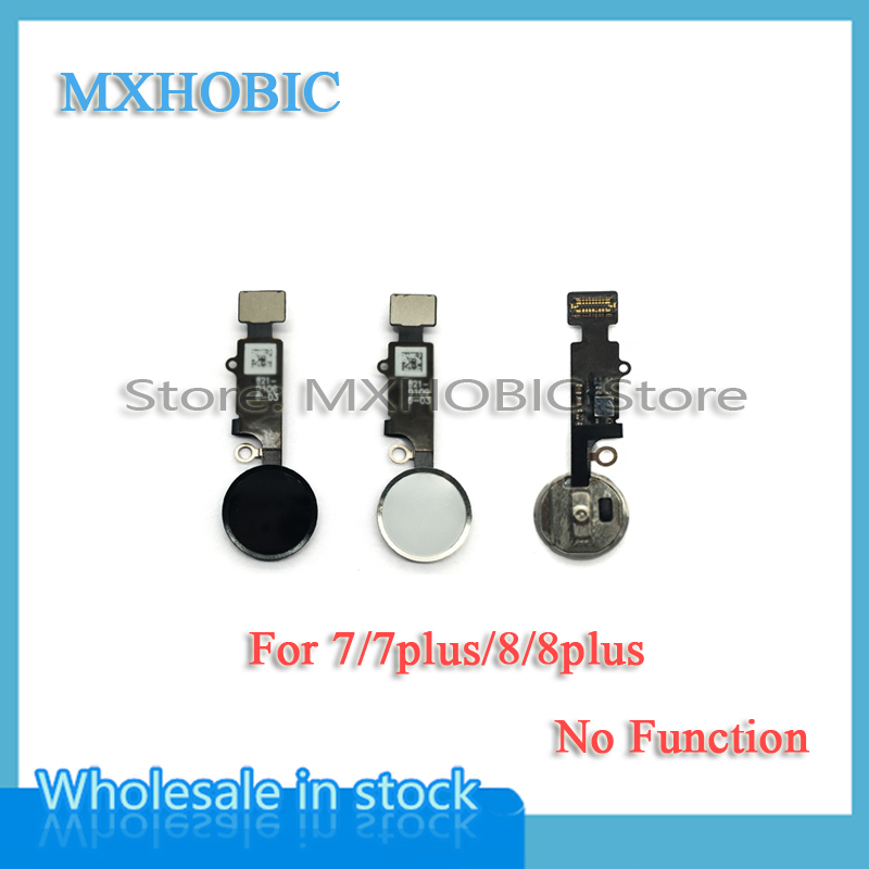 Home-Button iPhone 7 Ribbon-Assembly Replacement-Parts Flex-Cable 7plus for 8G Menu Key