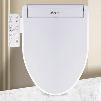 Multifunción climatizada asiento De Inodoro, bidé electrónico cubierta impermeable De la limpieza del asiento del baño Tapa De Inodoro asiento De Inodoro DA60ZBQ