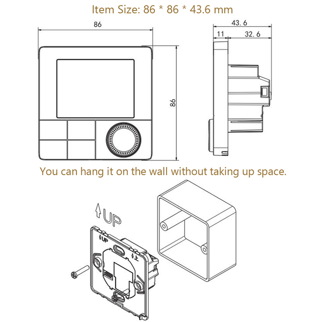 Termostato inteligente Wifi Beok 5