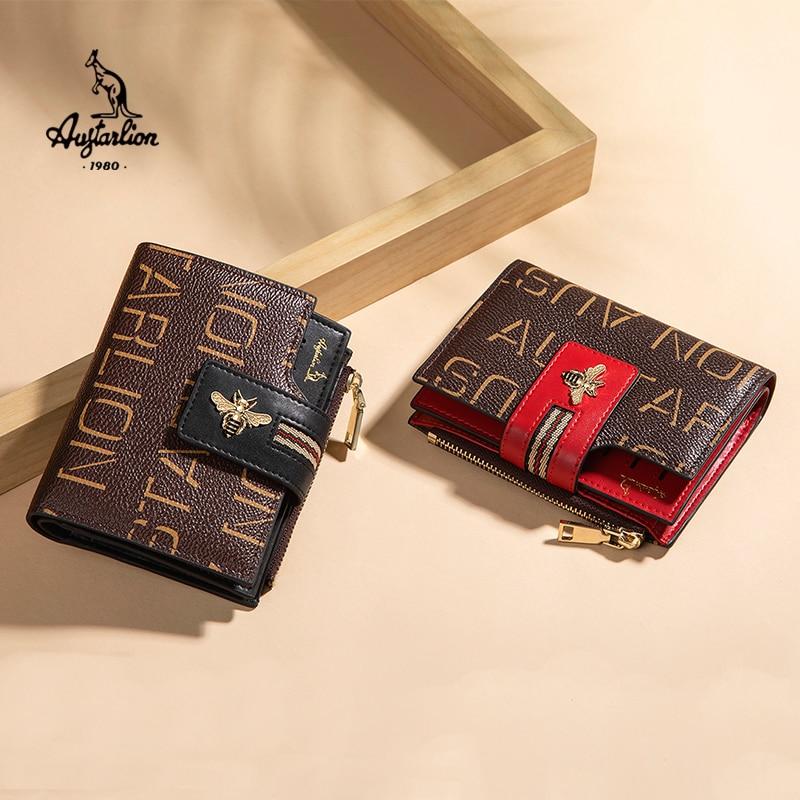 2020 AUGTARLION Women Luxury Wallets Leather Purse Women Ladies Card Bag For Women Holder Women Female Purse Money Clip Wallet