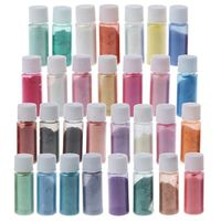 30 Colors Mica Powder Epoxy Resin Dye Pearl Pigment Natural Mica Mineral Powder