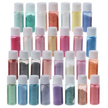 30 Colors Mica Powder Epoxy Resin Dye Pearl Pigment Natural Mica Mineral Powder