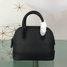 2020 نساء موضة حقيبة حقيبة يد فاخرة حقائب النساء مصمم حقائب العلامة التجارية الشهيرة حقائب النساء حقيبة جلدية حقيقية قذيفة حقيبة