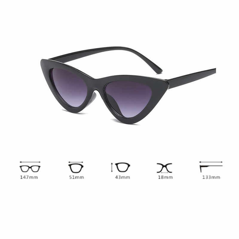 New Women Fashion Cat Eye Shades Driver Goggles Integrated UV Candy Colored Glasses Radiation protection Glasses