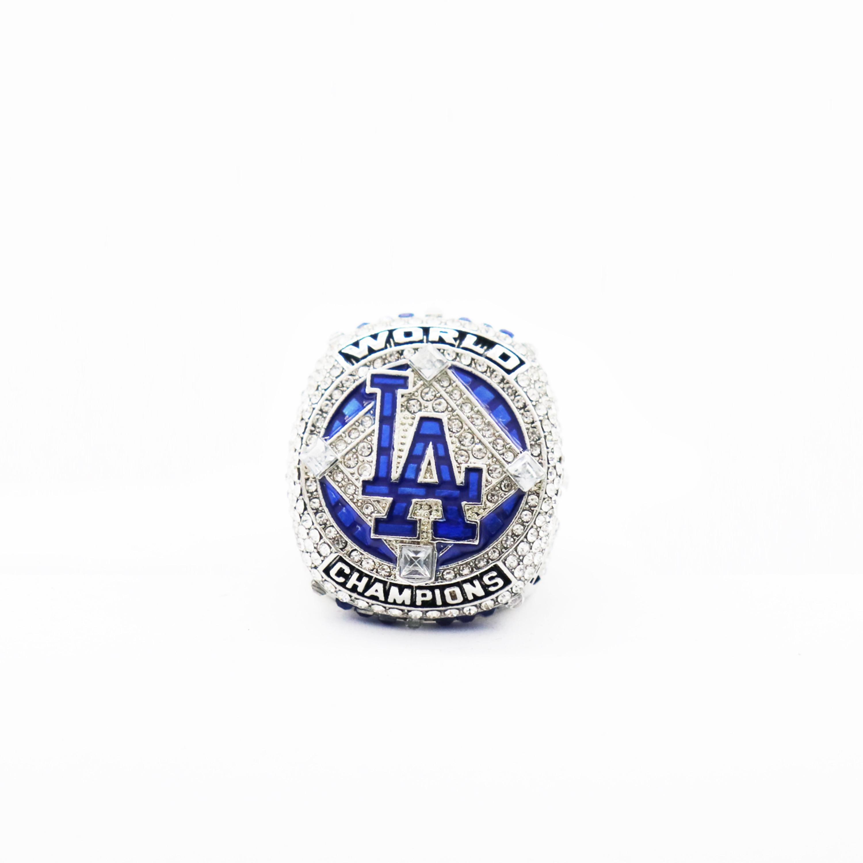 Дропшиппинг 2020 кольца чемпионата Dodger Basball все размеры 8-14
