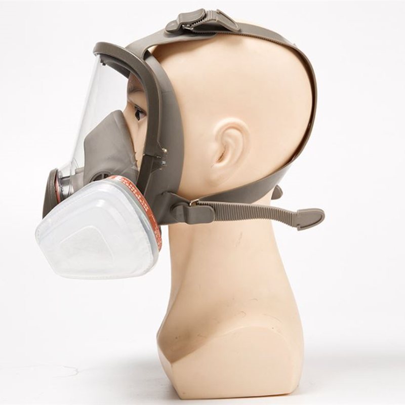 Full Face Mask Smoke Protective Mask Anti Full Face Respiratory Military Protection Gas Mask
