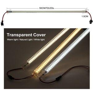 Image 4 - 6 قطعة مجموعة عمود إضاءة LED ضوء التيار المتناوب 220 فولت/110 فولت سطوع عالية 8 واط 72 المصابيح 50 سنتيمتر توفير الطاقة LED أنابيب الفلورسنت.