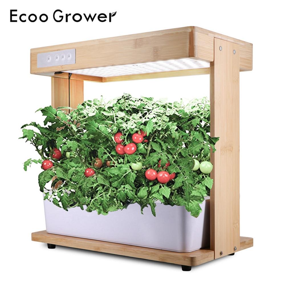 Ecoo Grower Grow Light Hydroponic System Box Full Spectrum Intelligent Indoor Garden Grow Lamp Kitchen Garden Best Family Gift