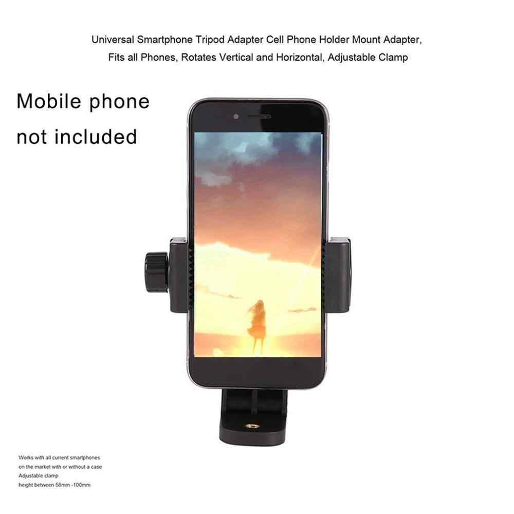 هاتف محمول كليب العمودي قوس الهاتف الذكي ترايبود جبل حامل 360 درجة دوران لجميع هاتف محمول
