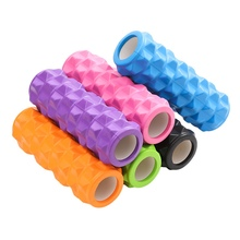 MHKBD Yoga Block Fitness Muscle Relaxation Large Particles Hollow Massage Roller EVA Foam Gym Pilates Exercise Sports KBD0066