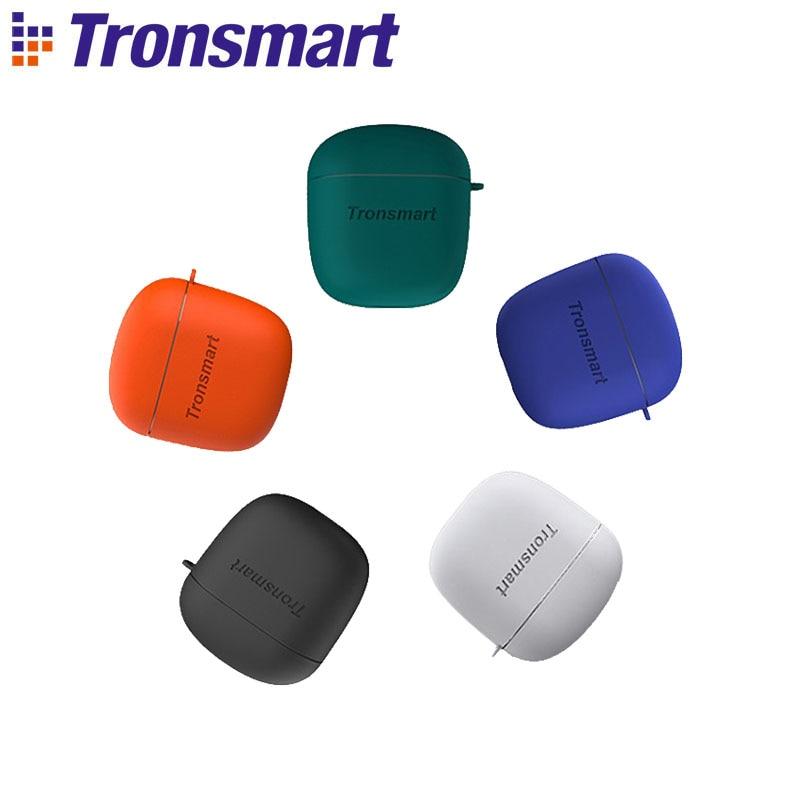 Écouteurs Bluetooth Tronsmart Onyx Ace TWS écouteurs sans fil envoyant des étuis en Silicone souple gratuits