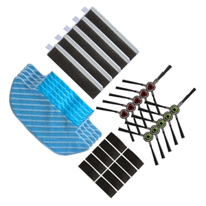 Image 1 - Top Deals Robotic Vacuum Cleaner Mop Cloths Brush Filter for ECOVACS DEEBOT OZMO Slim 10 Robot Vacuum Cleaner Rags Parts Accesso