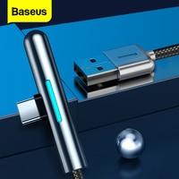 Baseus-Cable USB tipo C para Huawei Mate 30, 20, P30, P20, P10 Pro Lite 4A, cargador de tablero, USB-C, Cable USB tipo C, 40W