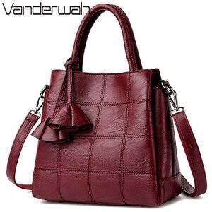 Image 1 - Sac Casual Tote Leather Luxury Handbags Women Bags Designer Handbags High Quality Ladies Corssbody Hand Bags For Women Bolsas