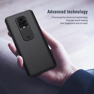 Image 4 - NILLKIN Dành Cho RedMi Note 9S 9T Note 9 10 Pro Max XiaoMi Poco X3 NFC M3 10X 4G 10 Lite Ốp Lưng, bảo Vệ Camera Trượt Bảo Vệ Da