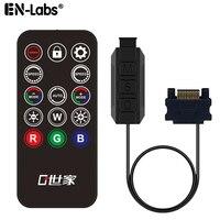 5V ARGB 12V RGB LED PC Controller Kabel Drahtlose Ir-fernbedienung, SATA zu 3pin / 4pin RGB Licht Streifen, Lam, Fall Fan Colling Kühler