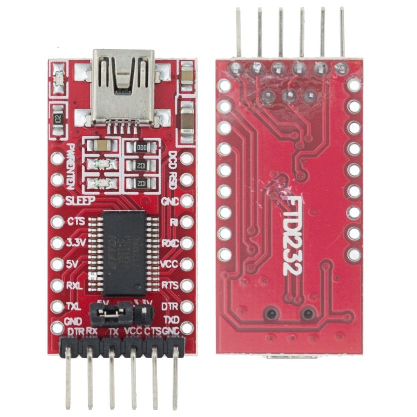 Кабель для скачивания FT232RL FT232 с USB на TTL 5 в 3,3 В, модуль последовательного адаптера USB на 232 C33