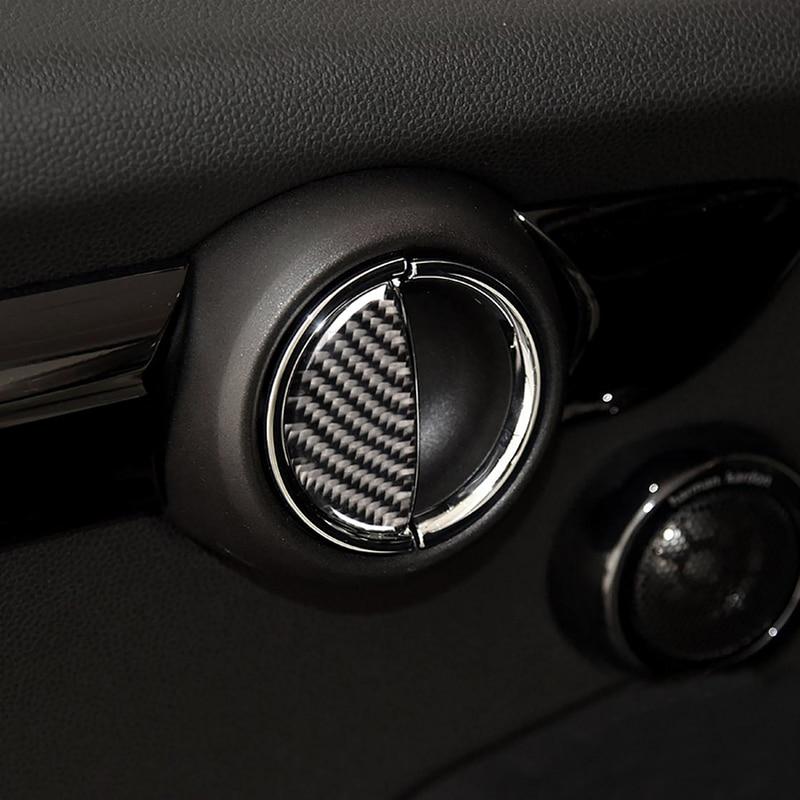 Car Epoxy Door Handle Sticker Decal Interior Decoration For Mini Cooper One S JCW R55 R56 60 R61 F54 F55 F56 F60 Car Accessories