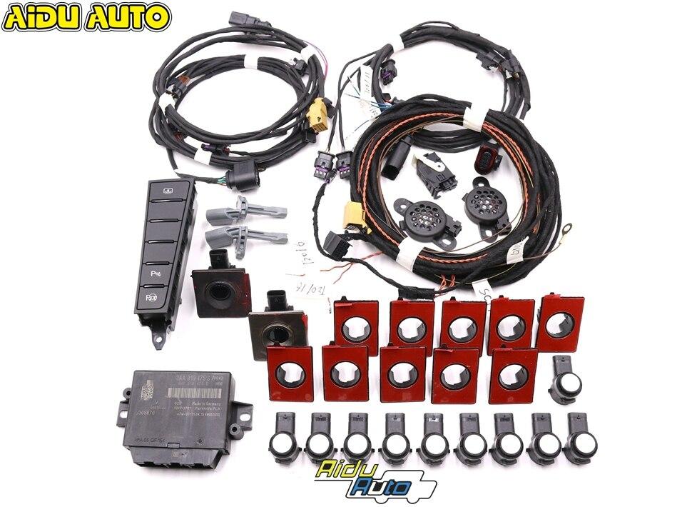 Front And Rear 12K OPS Auto Intelligent Parking Assist Park Assist PLA 2.0 USE For VW Passat B7 CC 3AA 919 475 S /M