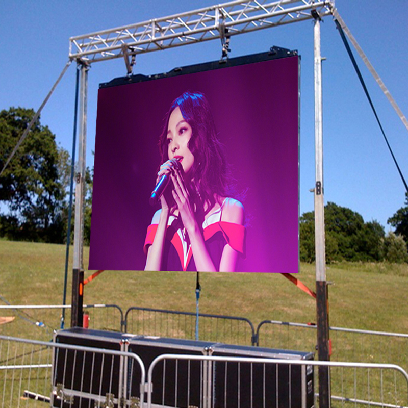 Outdoor P3.91 Rental LED Display From China LED Screen Video Wall