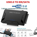 USB3.0 to SATA/IDE HDD Hard Disk Drive Converter 2.5/3.5inch External Hard Disk Case Box 5 GBPS High Speed US/EU/UK Plug