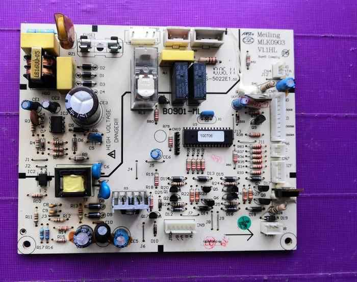 Холодильник бортовой компьютер DJG-C02-ZD-FP 1150900060 B0901 B0901-ML MLK0903 V1.1HL C1204 C1204_c BCD-350W C1046-ML MLK1012