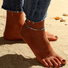 beads Anklets for Women Foot Sandals Jewelry Summer Beach Barefoot Bracelet ankle on leg Ankle strap Chain Bohemian Accessories pendant anklets barefoot sandals beads indian gold silver beads sequins anklets bracelet for women jewelry foot chain anklets