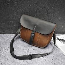 Leather Men Shoulder Bag Small Men Bag Vintage Casual Multifunctional Messenger Bag Man leather waist Bags