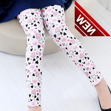 New Fashion Spring-autumn Childrens Leggins Pants Girls And Flowers Butterflies