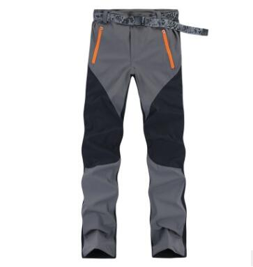 Outdoor Color Matching Elastic Quick-drying Pants, Men's And Women's Riding Pants, Korean Version Of Elastic Pants, Thin Section