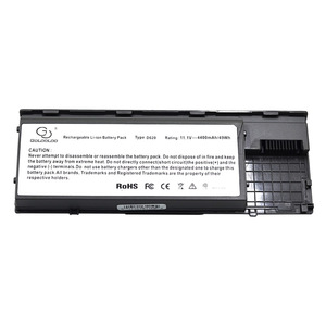 Image 4 - Golooloo 4400mah 6 Cells Laptop Battery For Dell Latitude D620 D630 D631 KD491 KD492 KD494 KD495 PC764 PC765 PD685 RD300 TC030