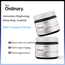 The Ordinary Vitamin C L-Vitamin C VC Whitening Powder Oil Control Fade Fine Line Spot Brighten Acne Skin Tone Face Treatment