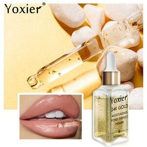 Image 3 - Yoxier sérum hydratant de Base pour maquillage, or 24k, professionnel, mat, 1 pièce
