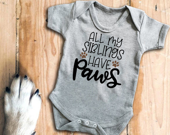 My big sisters have whiskers baby grow bodysuit big brother big sister have paws baby jumpsuit sibling have paws baby outfits фото