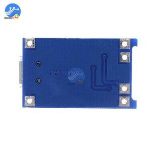 Image 5 - 10pcs BMS 18650 리튬 이온 리튬 배터리 충전기 보호 보드 5V1A 마이크로 USB 마이크 증폭기 배터리 밸런서