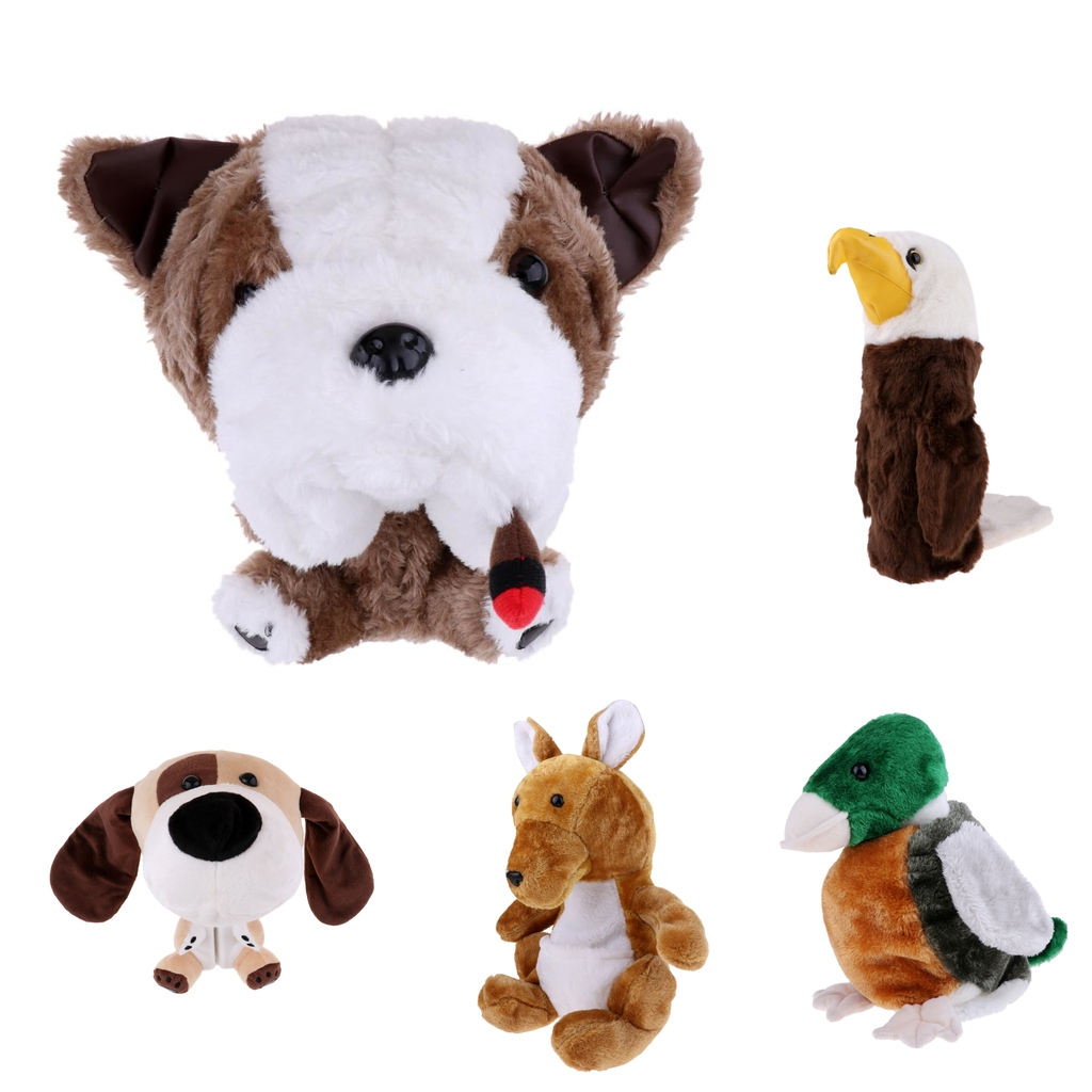 Novelty Animal Golf Club Head Cover Headcover Protector For 460 CC/No.1 Wood Driver Golf Accessories Gifts - 5 Styles Available