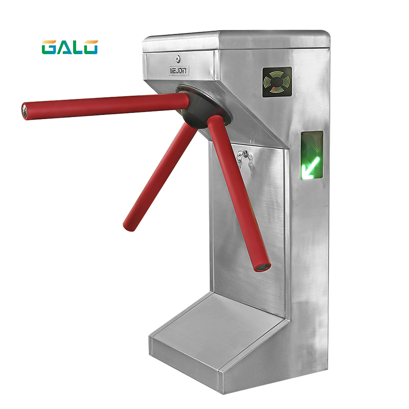 RFID card reader security turnstile gate Automatic subway turnstile gate for gyms NFC access control turnstile gate
