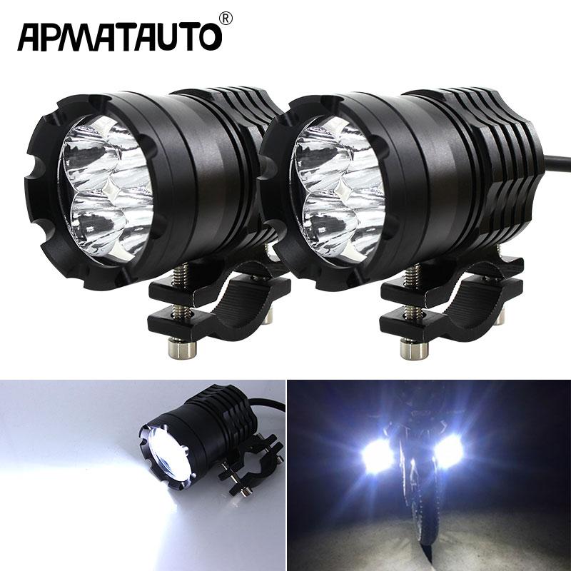 2PCS L4 LED Motorcycle Headlights 9600LM 6000K LED Motorbike Spotlight Moto Driving Headlamp Head Light Decorative Lamp 12v 24v - title=