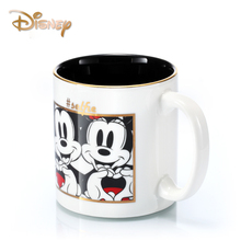 Coffee Mug 500 Ml Cute Cartoon Ceramic Cup Mickey Minnie Creative Large Capacity with Covered Mark Disney Water Gift
