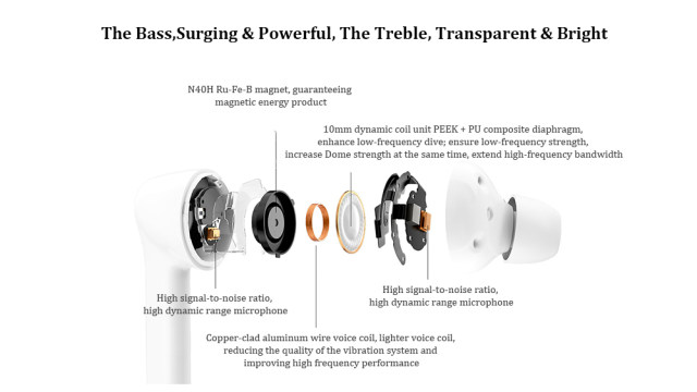 Huawei Honor FlyPods 3 Wireless Earphone TWS Three Microphone Noise Reduction Bluetooth 5.0 Waterproof IP54 Wireless Charge (4)