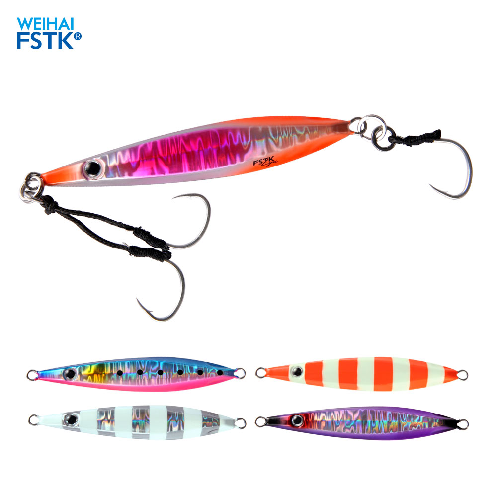 fishing lure <font><b>metal</b></font> <font><b>jig</b></font> Slow <font><b>Jig</b></font> <font><b>Metal</b></font> Casting Spoon 20g/40g/<font><b>60g</b></font>/80g Artificial Bait Off Shore Lead Cast Jigging Fishing Tackle image