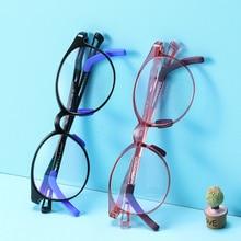 Kids Glasses Anti-Blue-Light Eyewear Computer Sight Myopia Prescription Retro Children