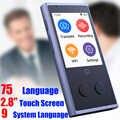 CTVMAN 75 traducteur instantané de langue traducteur de langue en temps réel traducteur intelligent de voix traducteur instantané Portable