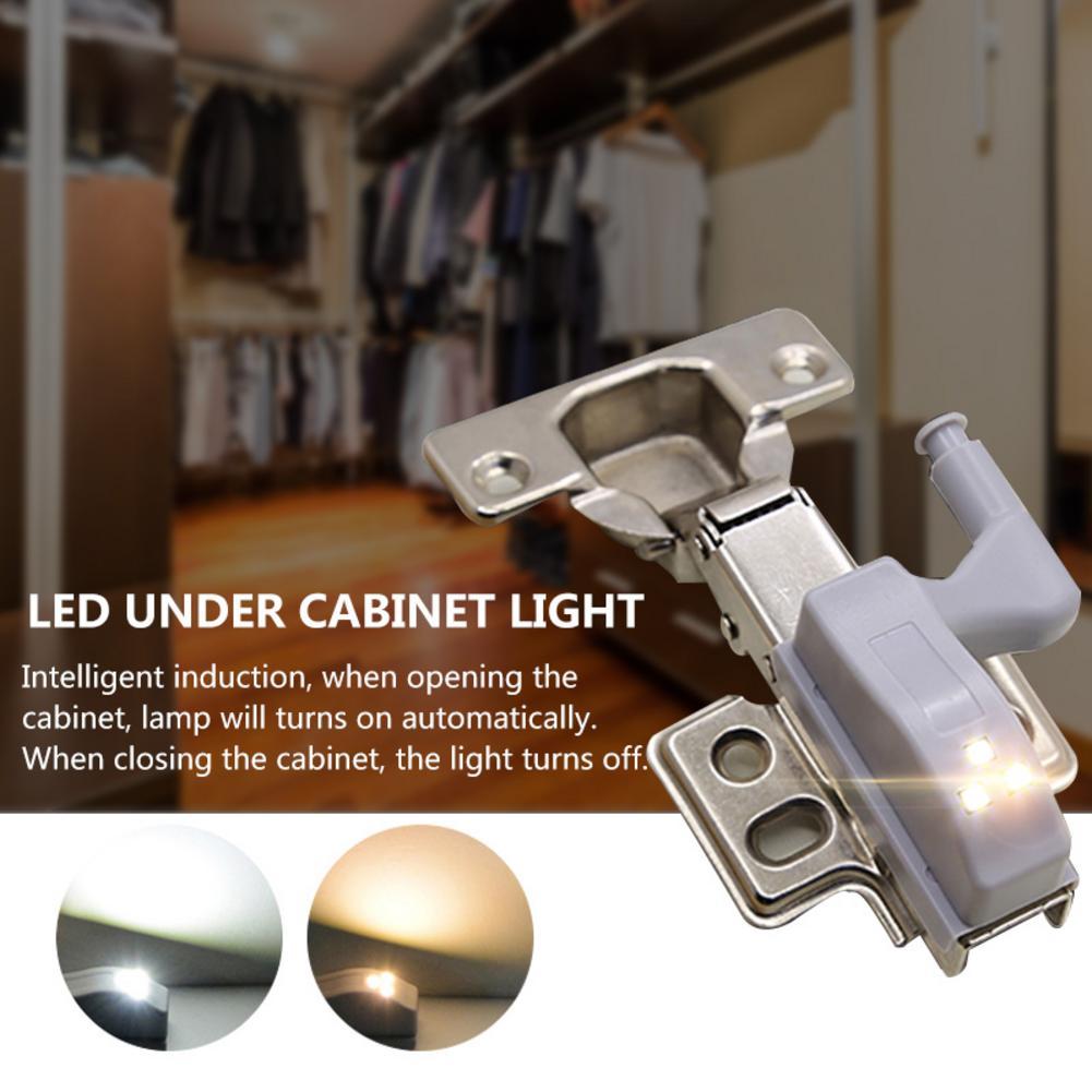 Universal Under Cabinet LED Light Cupboard Closet Wardrobe Inner Hinge LED Sensor Light Kitchen Night Light