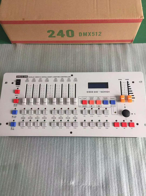 1 unité Premium haute efficacité faible consommation d'énergie 240 canaux DMX512 contrôleur Console effet éclairage pour scène DJ