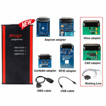 2020 Iprog Pro V84 Key Programmer Odometer Correction Airbag Reset Tool Iprog+ IMMO DPF Replace Digiprog3 Carprog V8.21 Online